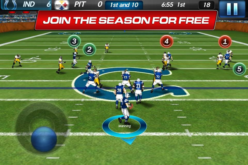NFL Pro 2012 screenshot #1