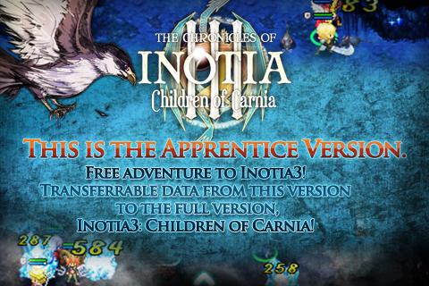 Inotia 3: Carnia's Apprentice screenshot #1