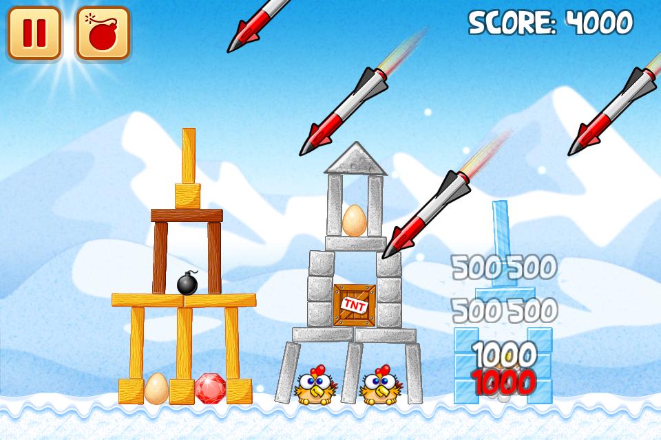 Chicken Raid Begins screenshot #4