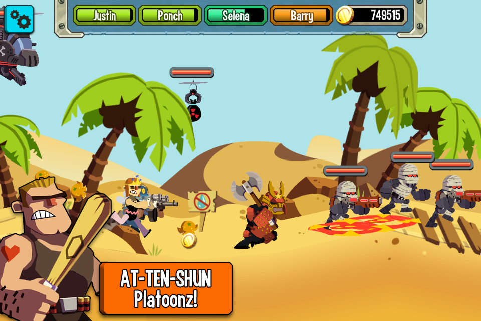 Platoonz screenshot 1