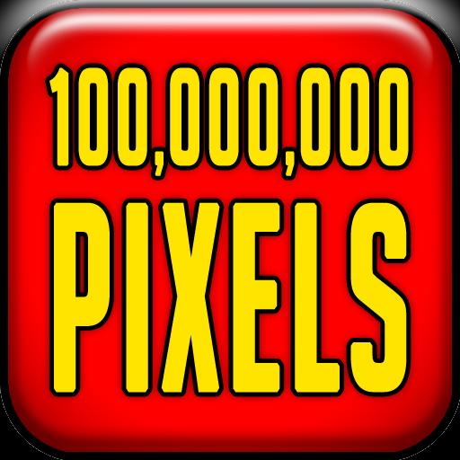100,000,000 PIXELS