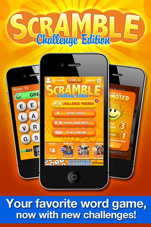 Word Scramble Challenge Edition by Zynga image #1