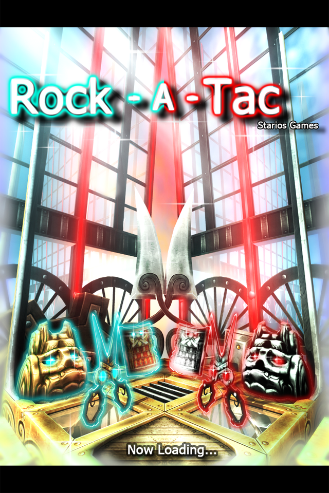 Rock-a-Tac Free screenshot 1