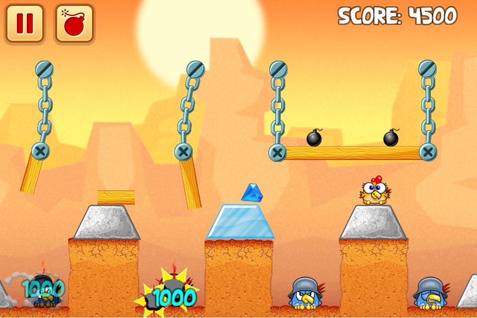 Chicken Raid Begins screenshot #3