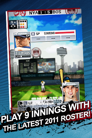 9 Innings: Pro Baseball 2011 Free screenshot #1
