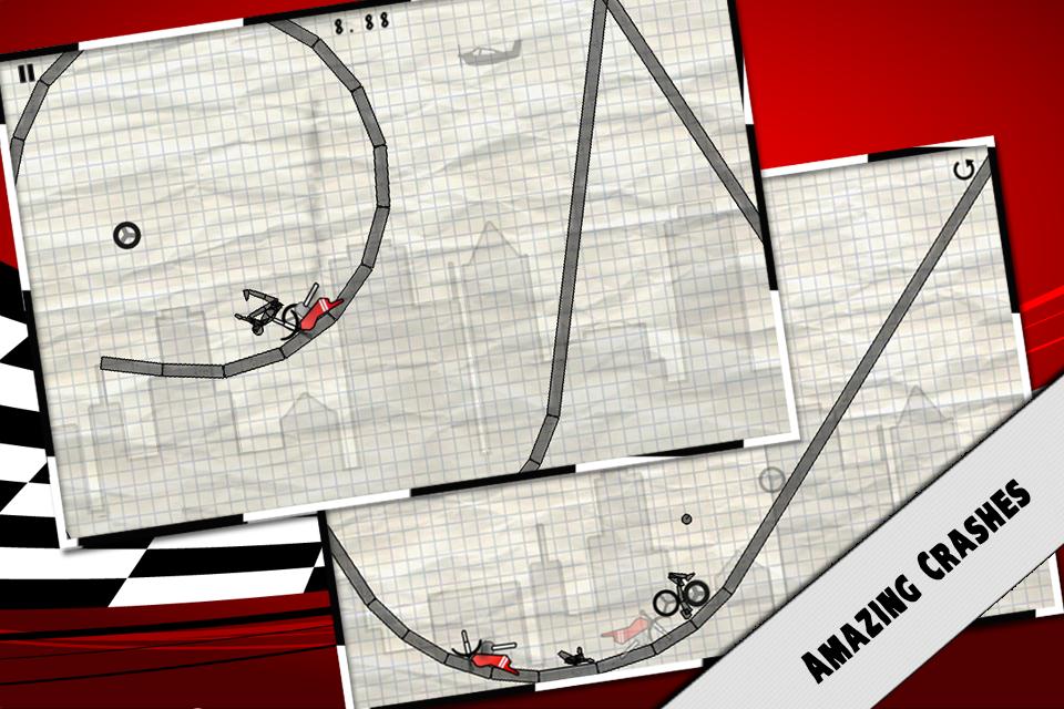 Stick Stunt Biker - Ignition! screenshot #5