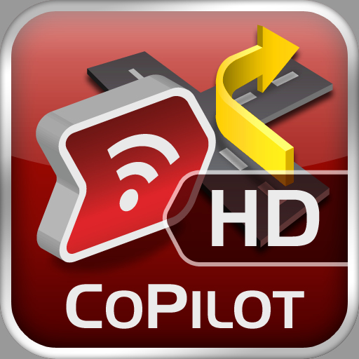 CoPilot Live HD, turn-by-turn navigation available for iPad
