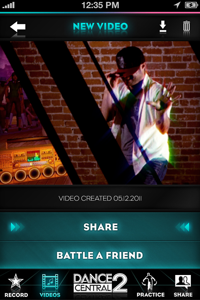 DANCE CENTRAL 2 : DANCE*CAM screenshot 4
