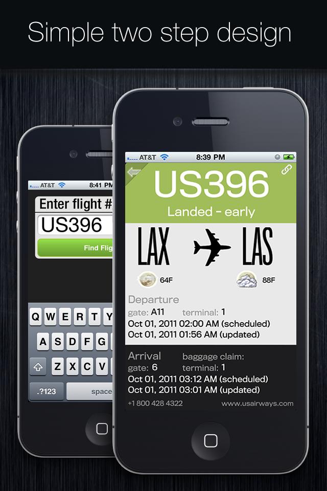 Flight Status+ screenshot #2
