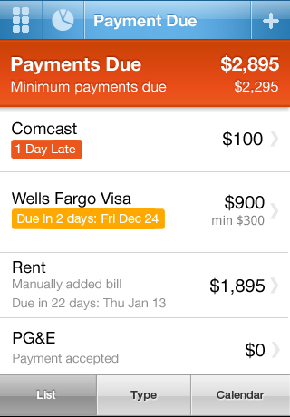 Pageonce Pro – Money & Bills screenshot 2