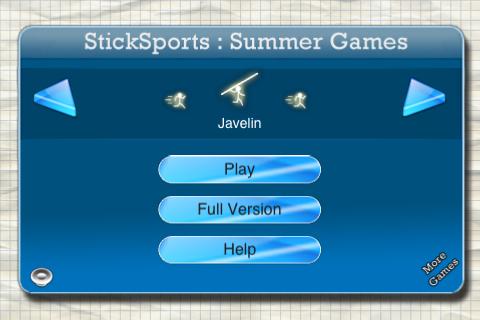 Stickman : Summer Games Lite screenshot #1