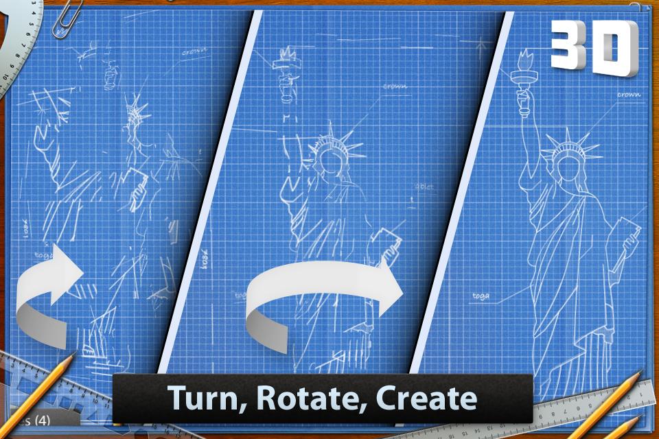Blueprint 3D Free screenshot #1