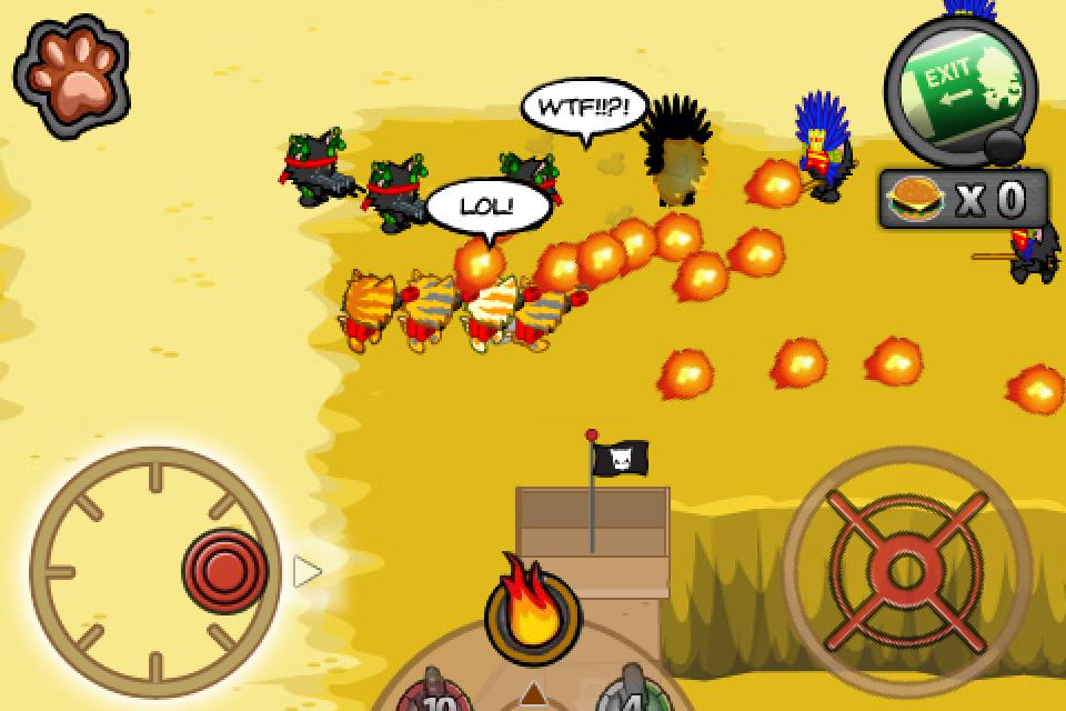 Meowcenaries screenshot #3