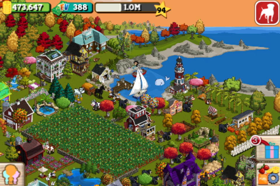 FarmVille by Zynga screenshot 3