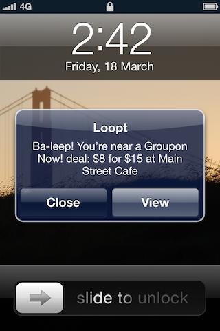 Loopt screenshot 3