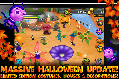 Bug Village Seasons screenshot #2