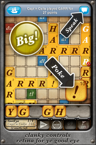 Words With Pirates screenshot 2