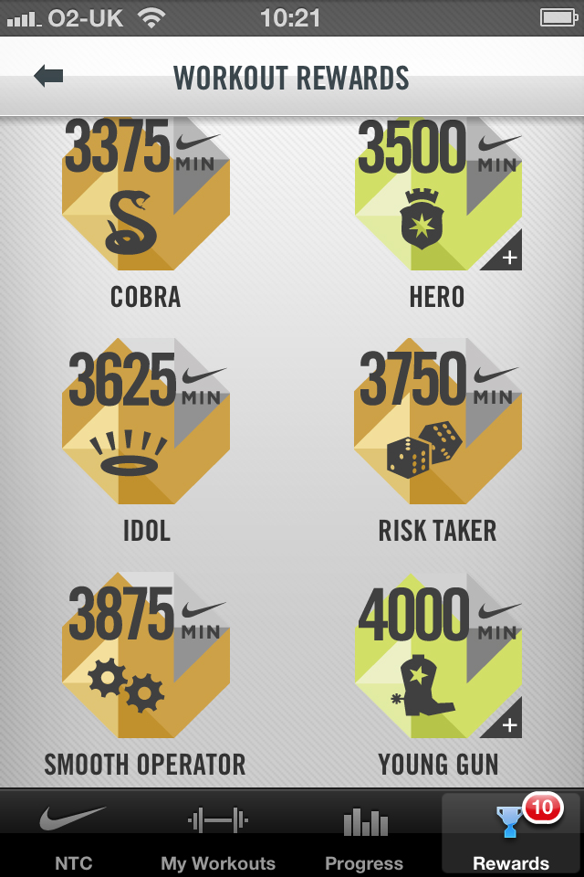Nike+ Training Club screenshot #5