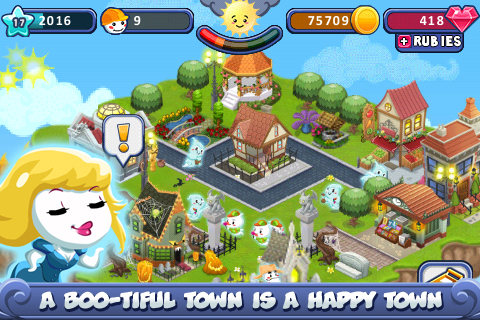 Boo Town screenshot #2