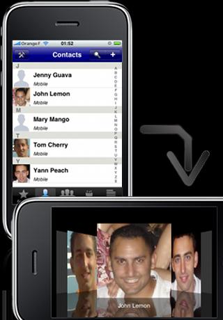 ContactsXL 1 screenshot #1