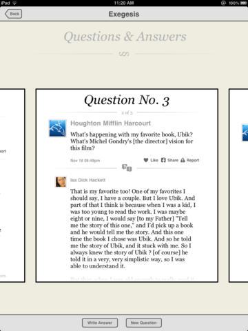 The Exegesis of Philip K. Dick (Lite) screenshot 4