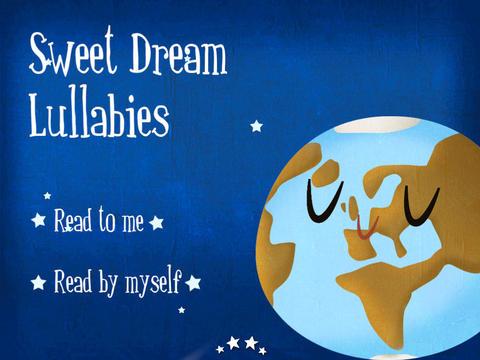 Sweet Dream Lullabies HD - Children's Story Book screenshot 1
