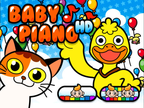 Baby Piano HD - náhled