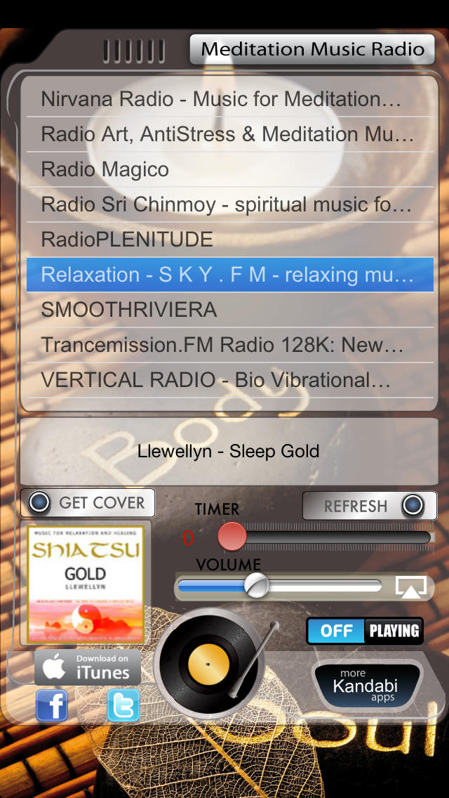 Meditation Music Radio screenshot 1
