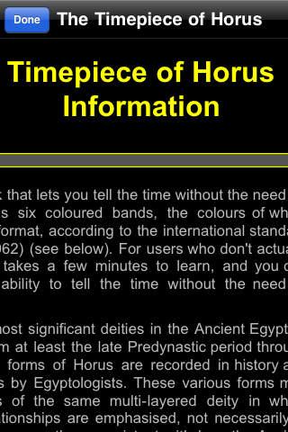 The Timepiece of Horus screenshot 2