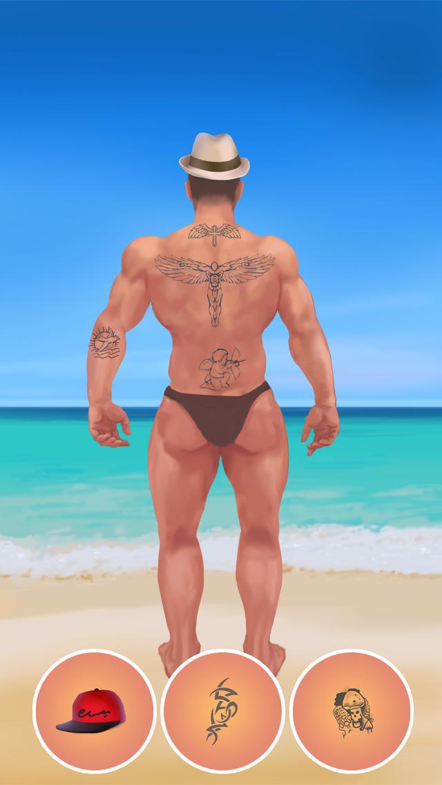 Fun Tattoo Dress Up Game PRO- NO ADVERTS - KIDS SAFE APP screenshot 4