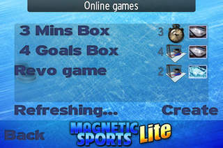 Magnetic Sports Hockey Lite screenshot #3