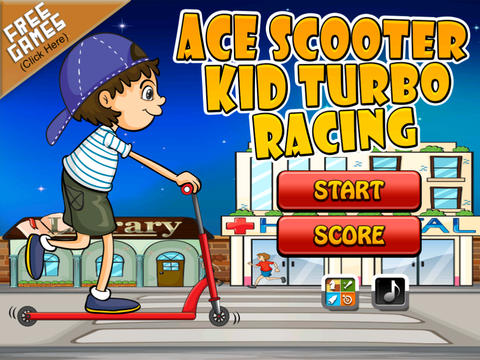 Ace Street Scooter for Kids - A Fast Turbo Highway Racing Madness - Full Version screenshot 10