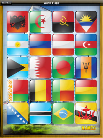 World Flags (Match'Em Up™ History & Geography) screenshot 8