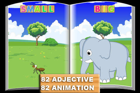 Number Names Worksheets list of opposite words with pictures : Adj & Opposite: First Words (FREE) on the App Store