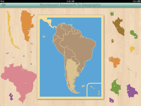 South America - Montessori Geography screenshot 4