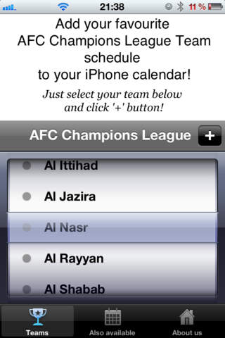 AFC Champions League screenshot 2