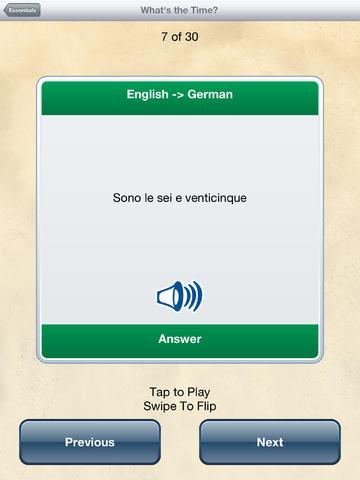Italian Travel Talk - Speak & Learn Now! screenshot 9