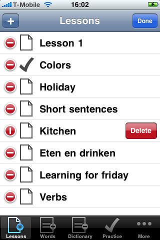 Woorden ID Indonesian Course screenshot 4