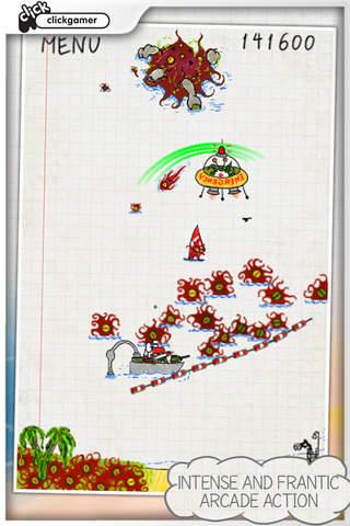 Doodle Invasion Lite screenshot 5