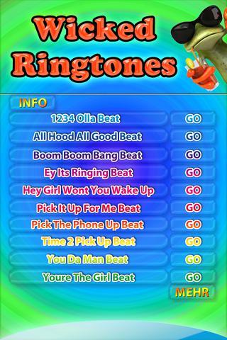 Wicked Ringtones - náhled