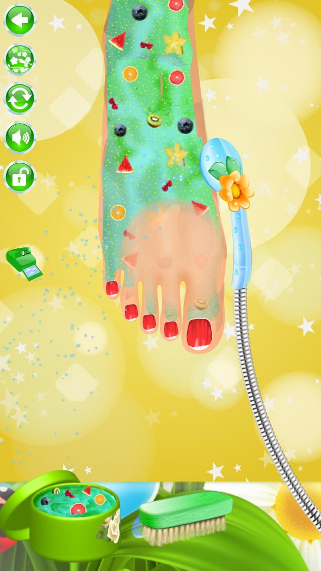 Summer Nail Spa Makeover Games screenshot 3