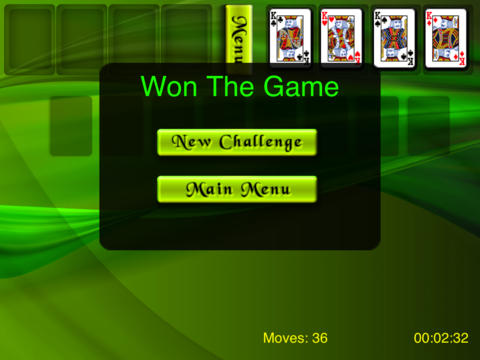 FreeCell for iPad (Better one) screenshot 3