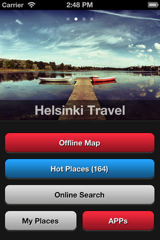 Helsinki Travel Map screenshot 1