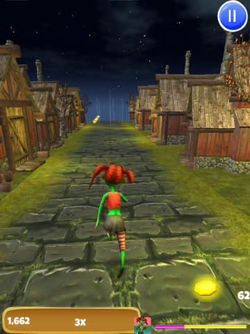 Angry Zombie Run: Crazy Village Rush - FREE Edition screenshot 7