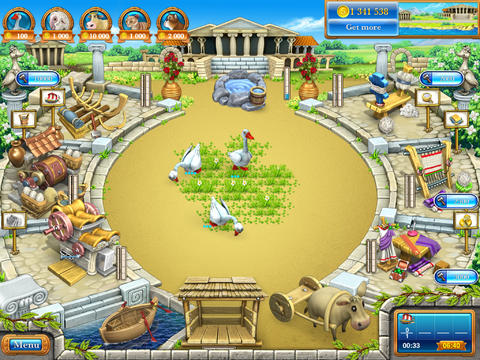 Farm Frenzy 3 Ancient Rome HDL screenshot 5