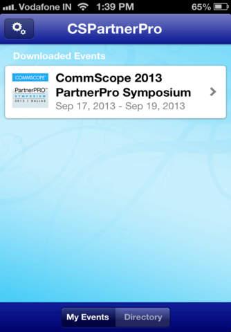 CommScope 2013 Partner Pro Symposium - náhled