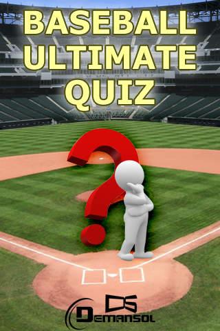 Baseball Ultimate Quiz screenshot 1