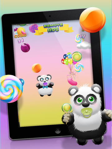 Baby Panda Bears Candy Rain - A Fun Kids Jumping Edition FREE Game! screenshot 10