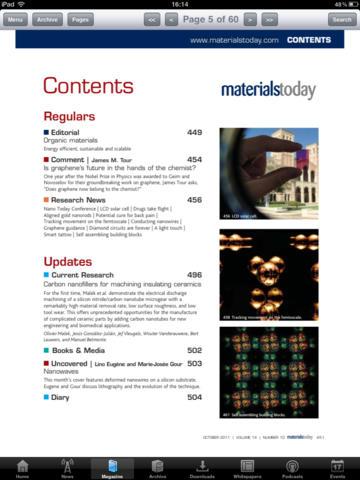 Materials Today screenshot 4