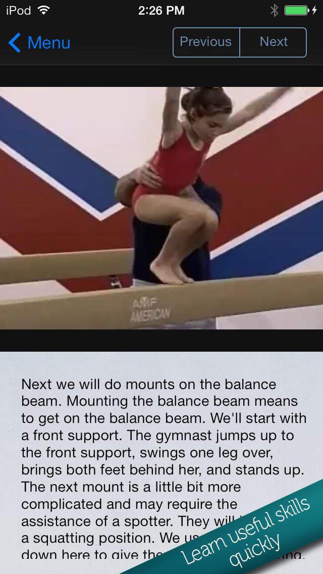 Learn Gymnastics for Kids screenshot 4